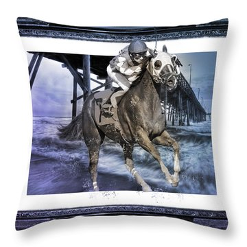 And Away We Go II Throw Pillow