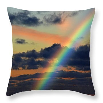 And Here Begins A Journey  Throw Pillow