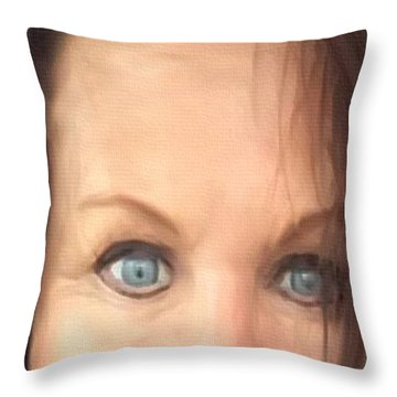 And I Mean It Throw Pillow
