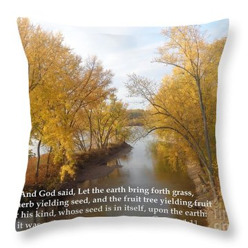 And It Was So Throw Pillow