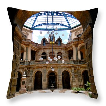 And Justice For All Throw Pillow
