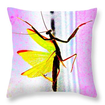 And Now Our Featured Dancer Throw Pillow by Xn Tyler
