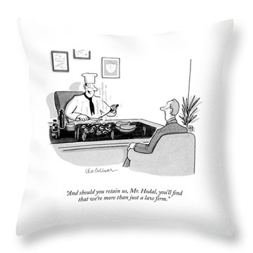 And Should You Retain Throw Pillow