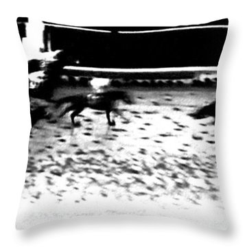 And The Winner Is ... Throw Pillow by George Pedro