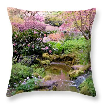 And Then It Was Morning Throw Pillow