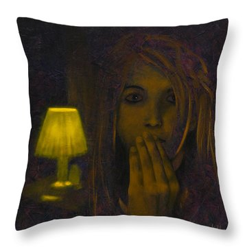 And Then The Phone Rang Throw Pillow