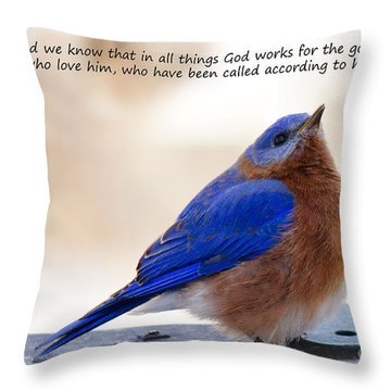 And We Know Throw Pillow