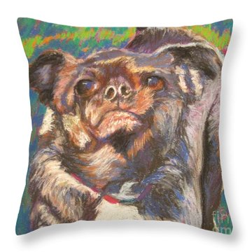 And Your Little Dog Too Throw Pillow by Katrina West