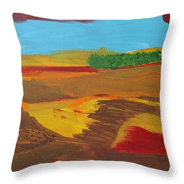 Andalusia Throw Pillow
