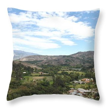 Andes Mountains  Throw Pillow