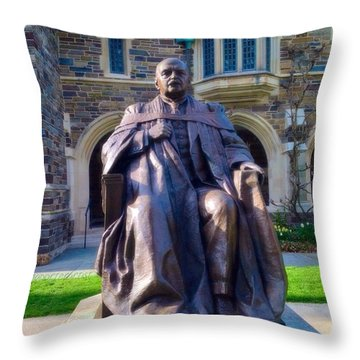 Andrew Fleming West, Class Of 1874 Throw Pillow