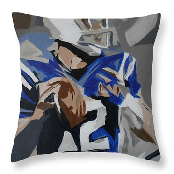Andrew Luck 2013 Throw Pillow