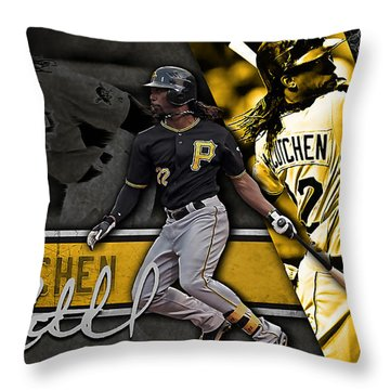 Andrew Mccutchen Throw Pillow