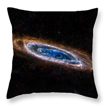 Andromeda Galaxy Throw Pillow by Movie Poster Prints