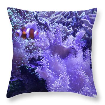 Anemone Starlight Throw Pillow