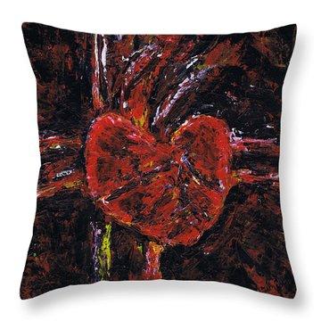 Aneurysm 2 - Middle Throw Pillow by Kamil Swiatek