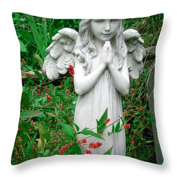 Angel Throw Pillow by Aimee L Maher Photography and Art Visit ALMGallerydotcom