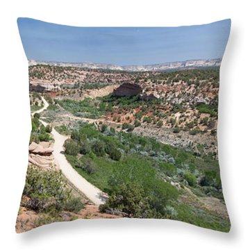 Angel Canyon Utah Throw Pillow