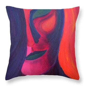 Angel Throw Pillow by Daina White