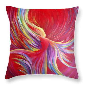 Angel Dance Throw Pillow