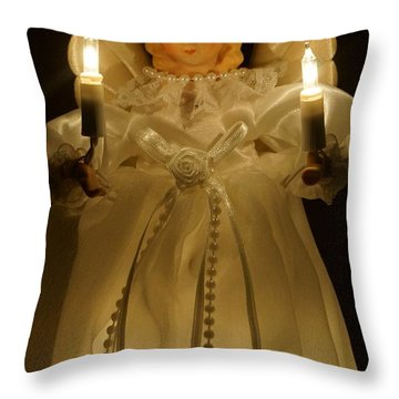 Angel Divine Throw Pillow