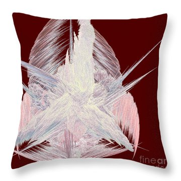 Angel Heart By Jammer Throw Pillow by First Star Art