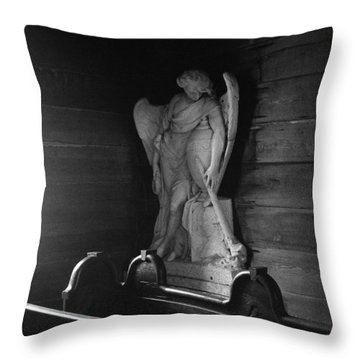 Angel In My Corner Throw Pillow