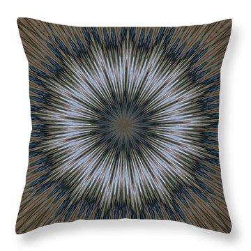 Angel Kaleidoscope Two Throw Pillow
