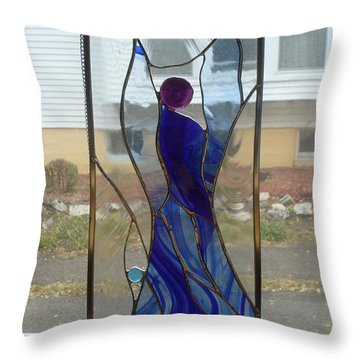 Angel  Throw Pillow by Karin Thue