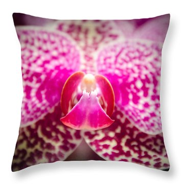 Throw Pillow featuring the photograph Angel by Penny Lisowski
