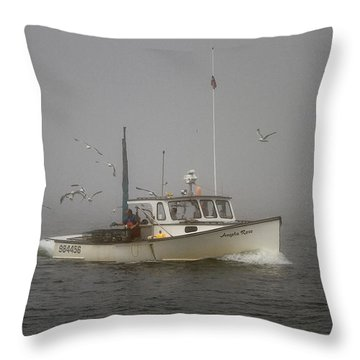 Angela Rose Throw Pillow