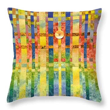 Angelic Visions Throw Pillow