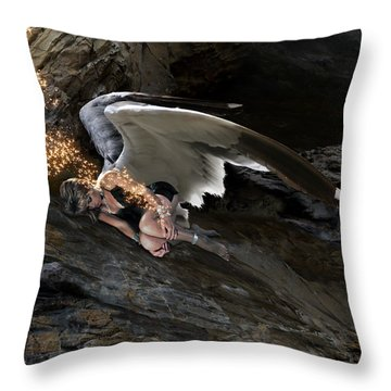 Angels- Call On The Name Of Jesus And Stand Still Throw Pillow