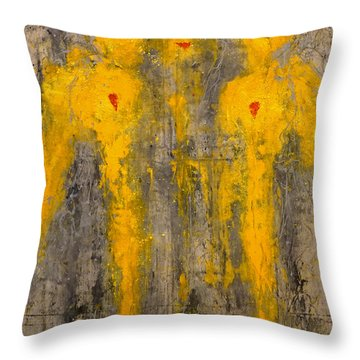 Angels I Have Seen Throw Pillow