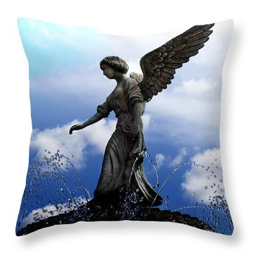Angel's Love Throw Pillow