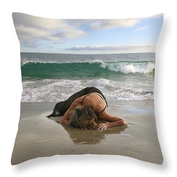 Angels- The Rapture Is Coming Throw Pillow