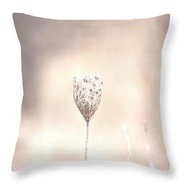 Throw Pillow featuring the photograph Angel's Touch by The Art Of Marilyn Ridoutt-Greene