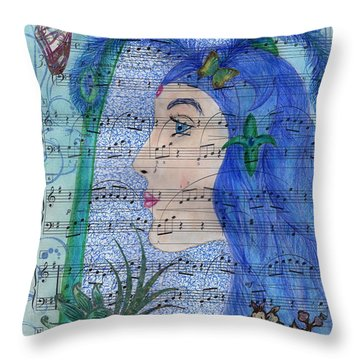 Angel's Voices Throw Pillow