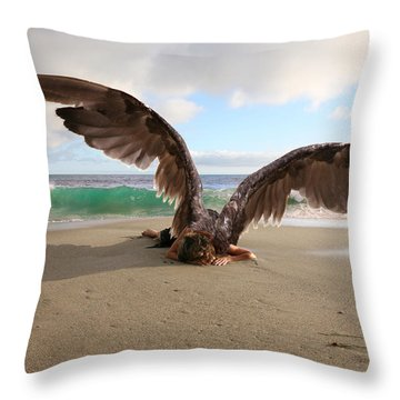 Angels- We Shall Not All Sleep Throw Pillow