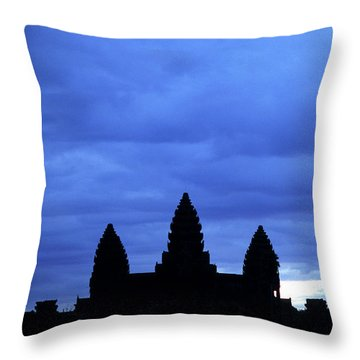 Angkor Wat Sunrise 01 Throw Pillow