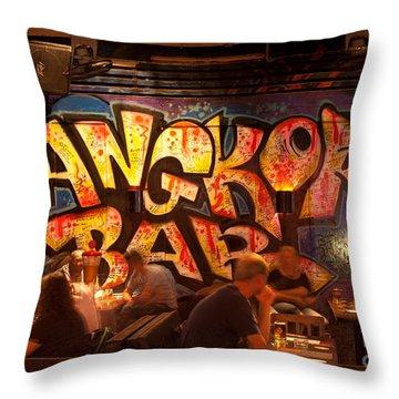Angkor What 01 Throw Pillow