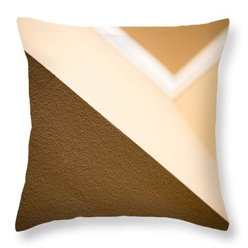 Angles Throw Pillow by Darryl Dalton