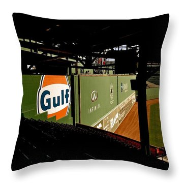 Angles Fenway Park  Throw Pillow