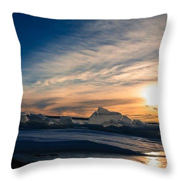 Angostura Ice 2 Throw Pillow