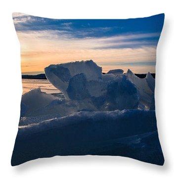 Angostura Ice Throw Pillow