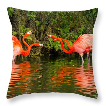 Angry Birds - Doubles Match Throw Pillow
