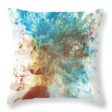 Yang's Walkabout Throw Pillow by Sora Neva