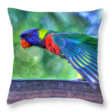 Animal 3 Throw Pillow