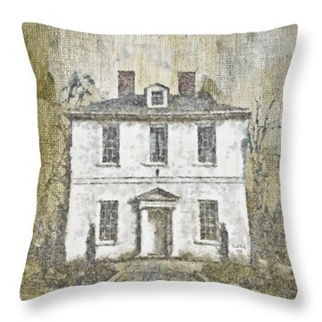 Animal House Throw Pillow by Trish Tritz