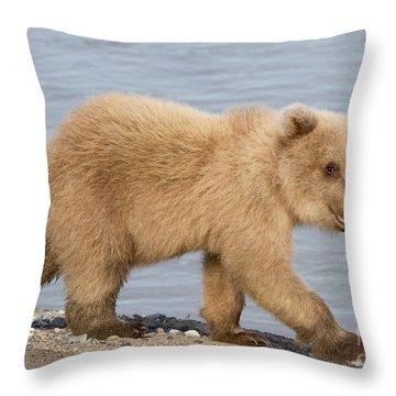Animal Magnetism Throw Pillow